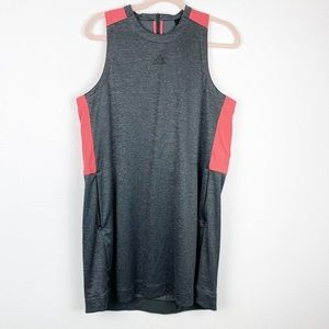 Adidas Gray and Pink Athletic Dress w/ Pockets XL
